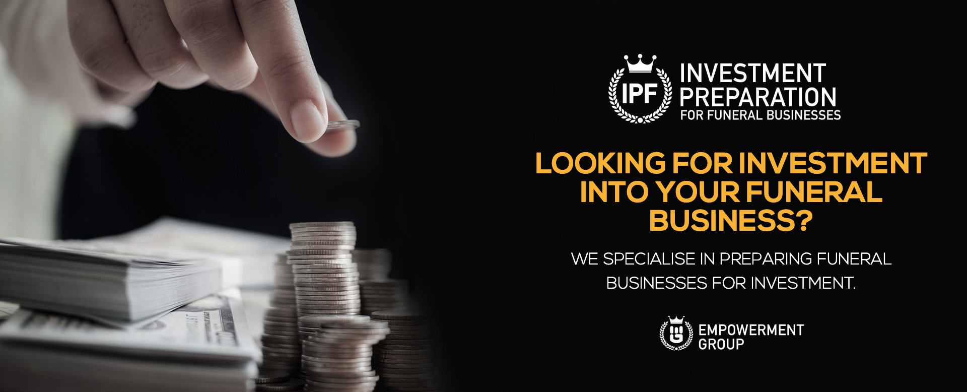 Investment Preparation for Funeral Businesses
